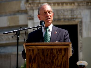 Mayor Michael Bloomberg insisted Tuesday that the city is not experiencing a crime wave, despite an uptick in violent crimes.