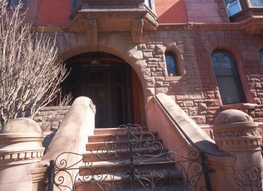 A brownstone on 120th Street that is part of the Mount Morris Park House Tour.