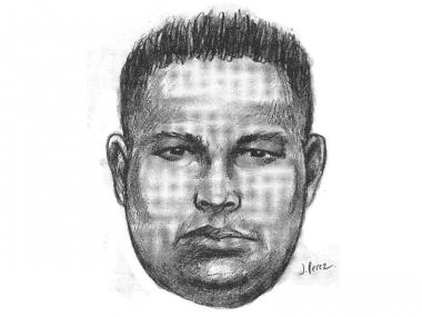 The man in this police sketch raped a 19-year-old woman in Richmond Hill late Sunday night, the NYPD said.