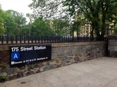 An unidentified man was struck and killed by an A train near Fort Washington Avenue and West 175th Street on Wednesday morning, the MTA and FDNY said.