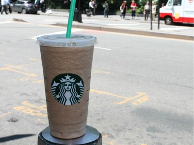 Venti Frappuccinos would likely be banned under the new rule since they are over 16 ounces and less than 50 percent milk.