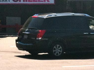 A minivan struck and killed a 64-year-old woman at the McDonald's at 2240 Flatbush Ave. in Brooklyn on May 31, 2012.