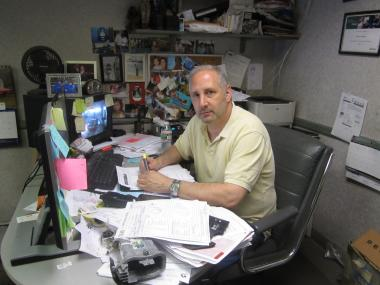 Gary Gartenberg, owner of Marmin Collision Specialists, doesn't know where he'd go if he has to leave East 73rd Street.