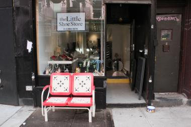 The Little Shoe Store started as a weekend pop up last year and now has a permanent home on Orchard Street.