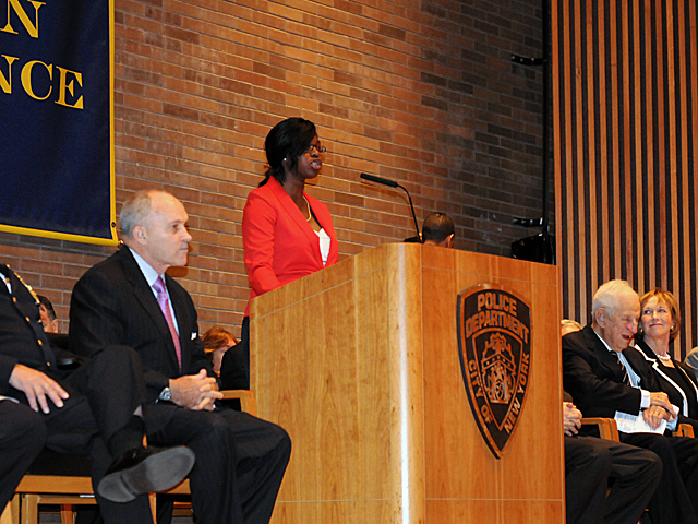 Police Commissioner for a Day essay winner Kanisha Ffriend talks about proposal to reduce