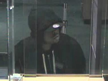 The suspect robbed HSBC and Sovereign Bank branches on Flatbush Avenue and Newkirk Avenue.