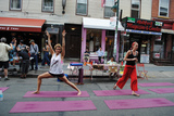 Bedford Avenue Becomes Street Party