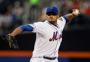 Johan Santana threw the first no-hitter in Mets history on June 1 against the St. Louis Cardinals.