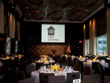 A 2012 benefit dinner organized by the nonprofit Urban Pathways, Inc., which has proposed building a new housing development in The Bronx for formerly homeless adults with mental illnesses.