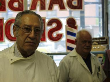 Manollo Castillo and William Narcado have cut hair in their shop on Ninth Avenue for 17 years, but have to be out of the space by the end of June, they said.