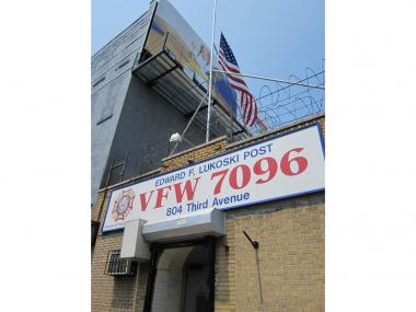 VFW Post 709 is located at 804 Third Ave. in Sunset Park.