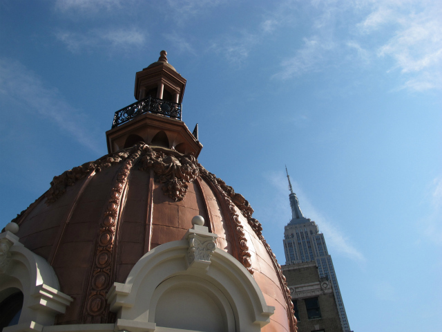"The NoMad Hotel's rooftop restaurant features a domed ""cupola,"" which will accommodate private parties of up to 10 guests."