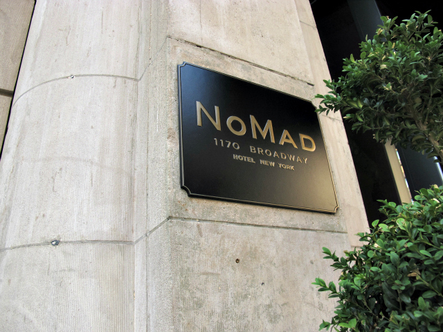 The NoMad Hotel is the brainchild of Eleven Madison Park duo Chef Daniel Humm and General Manager Will Guidara.