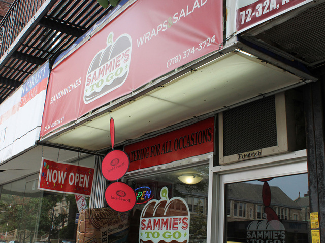 New sandwich shop Sammie's to go opened on June 4.