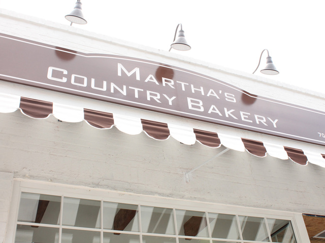 Martha's Country Bakery opened at its new location on June 1.