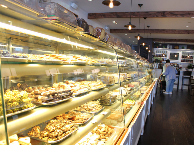 Martha's Country Bakery features a wide selection of baked goods.