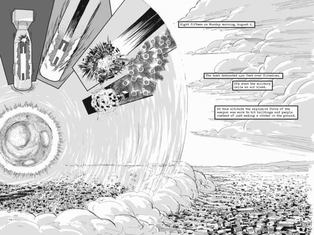 <p>The Wolff-Alport Chemical Company&#39;s work on the atomic bomb&#39;s construction (drawn here by graphic novelist Jonathan Fetter-Vorm) has led to heightened radiation levels at the Irving Avenue site.</p>