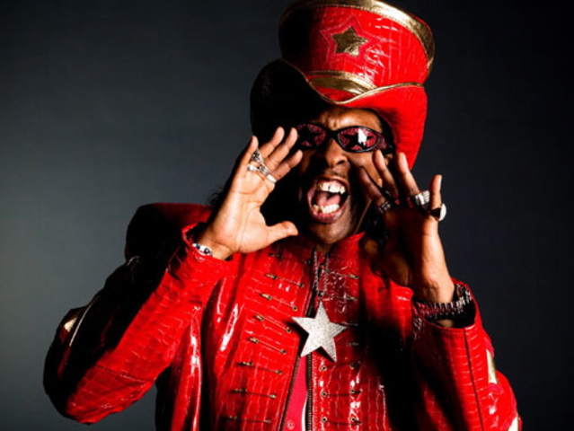 Bootsy Collins hits B.B. King's Blues Club Wednesday night.