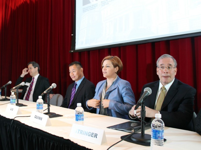 <p>Manhattan Borough President Scott Stringer, City Council Speaker Christine Quinn and City Comptroller John Liu all called for a greater focus on diversity.</p>