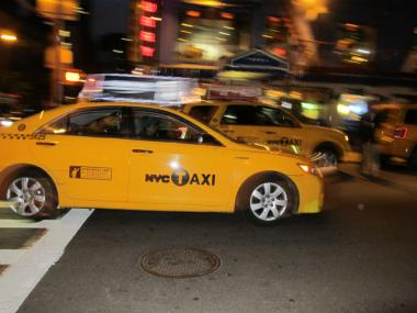 A taxi fare hike takes effect Tuesday