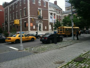 The accident happened at Fifth Avenue and East 104th Street on June 14, 2012.