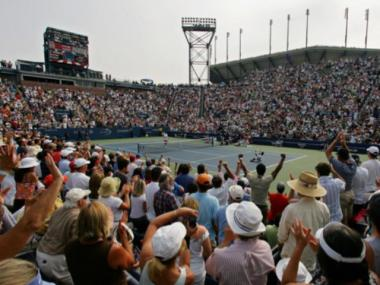 Revamped tennis courts hope to accomodate an extra 10,000 visitors a day to the US Open.