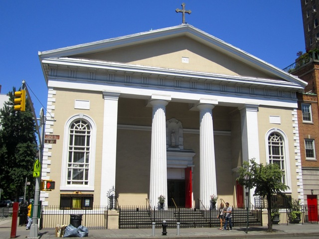 The school is affiliated with the Church of St. Joseph on Sixth Avenue.