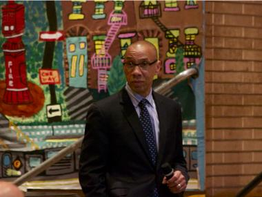 Chancellor Dennis Walcott held a town hall-style meeting Thursday, June 14, with Community Education Council 15 in Brooklyn. There, he pledged to meet within two weeks with parents concerned about a reduction in pre-K classes at P.S. 94 in Sunset Park.