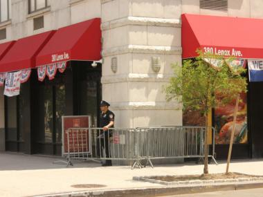 The NYPD have said the barriers may be erected every evening indefinitely.