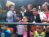 Williamsburg Rallies Against Daycare Center Cuts