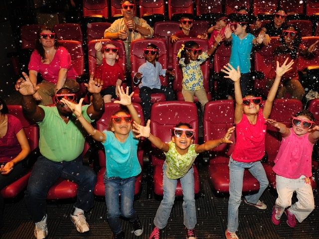 Taking your children to the movies is a good way to cool your family down this summer.