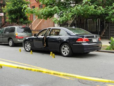 A man was shot to death outside of 387 Gates Ave. early Tuesday, June 19, 2012.
