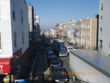 The city's Department of Transportation conducted a study of truck traffic on 20th Street in Brooklyn in early 2012.