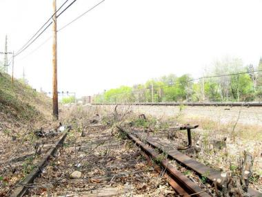 The Rockaway Beach branch line has been inactive for 50 years.