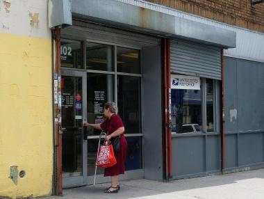 Bronx residents who use the Van Cott Post Office, on Decatur Avenue, were surveyed by local State Sen. Gustavo Rivera, who conducted the questionnaire to prove his district needs its mail locations.