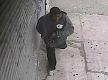 The man in this image, captured by a surveillance camera, allegedly shot and pistol-whipped a 64-year-old man inside an East New York Laundromat Tuesday, June 19, 2012.