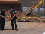 Worker Dead After Trench Collapse on Victory Boulevard