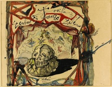 A 1949 painting by Salvador Dali, known as Cartel des Don Juan Tenorio.