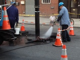 Manhole Fire Leaves Borough Park Block Without Electricity