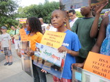 Harlem Parents Protest 'Separate and Unequal' Charter School Space Shares