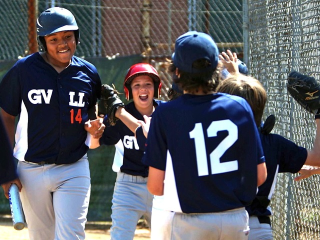 <p>Players on the Greenwich Village Little League team the Villagers are 11 and 12 years old.</p>