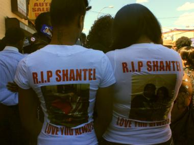 Dakota, left, 23, and Pam, 23 were friends of Shantel who she met through Job Corp.