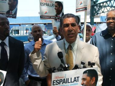 State Sen.Adriano Espaillat is now trailing Rangel by just 802 votes.