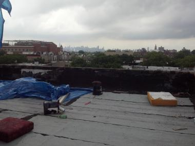 A man with a box cutter raped a woman on a rooftop on Bergen Street in Crown Heights early Monday, June 25, 2012, police said.
