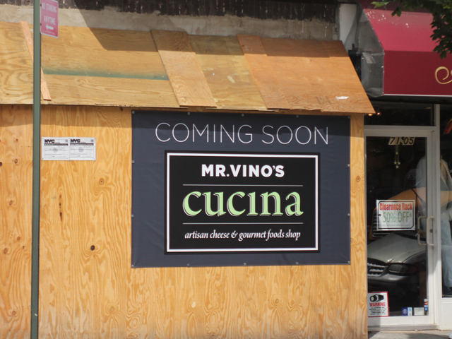 With Cucina, Mr. Vino's wine store expands around the corner on Austin Street and 71st Avenue.