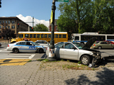 Seven Injured in Crown Heights Car Crash