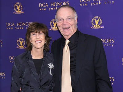 Director Nora Ephron (L) and Nicholas Pileggi attend the 2011 Directors Guild Of America Honors at the Directors Guild of America Theater on October 13, 2011 in New York City.