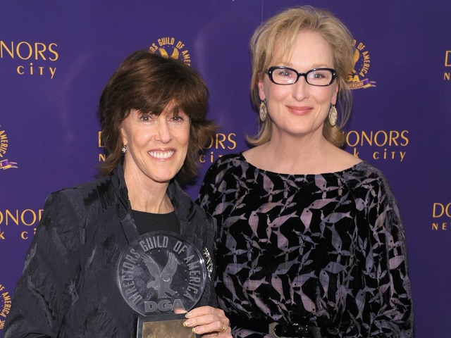 Actress Meryl Streep (R) poses with award recipient Director Nora Ephron at the 2011 Directors Guild Of America Honors at the Directors Guild of America Theater on October 13, 2011 in New York City.