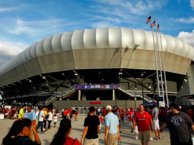 Major League Soccer hopes to build a 20-25,000 seat stadium in Flushing Meadows-Corona Park. Seen here is the MLS's Red Bull Arena in Harrison, N.J.