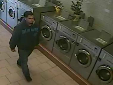 Police are searching for a man wanted for robbing a string of laundromats in Queens.